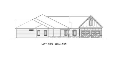 Craftsman House Plan with Angled Garage - 36031DK thumb - 54