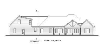 Craftsman House Plan with Angled Garage - 36031DK thumb - 53