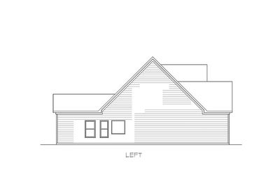 Traditional House Plan with Vaulted Family Room - 36041DK thumb - 03