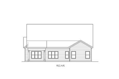 Traditional House Plan with Vaulted Family Room - 36041DK thumb - 02