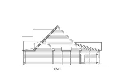 Traditional House Plan with Vaulted Family Room - 36041DK thumb - 04