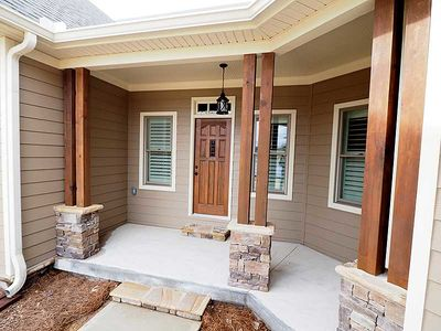Angled Craftsman Home Plan with Outdoor Spaces - 36043DK thumb - 03