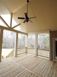 Angled Craftsman Home Plan with Outdoor Spaces - 36043DK thumb - 28