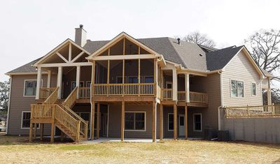 Angled Craftsman Home Plan with Outdoor Spaces - 36043DK thumb - 06