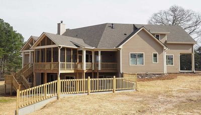 Angled Craftsman Home Plan with Outdoor Spaces - 36043DK thumb - 07