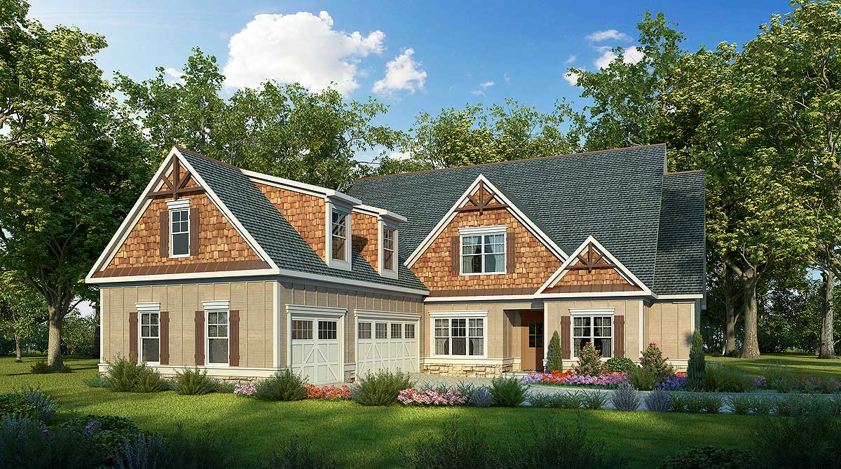 Outstanding craftsman house plan 36052dk 1st floor for Craftsman house plans with bonus room