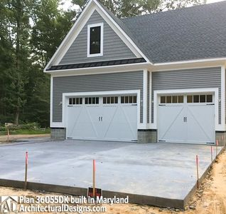Modified House Plan 36055DK built in Maryland - photo 009