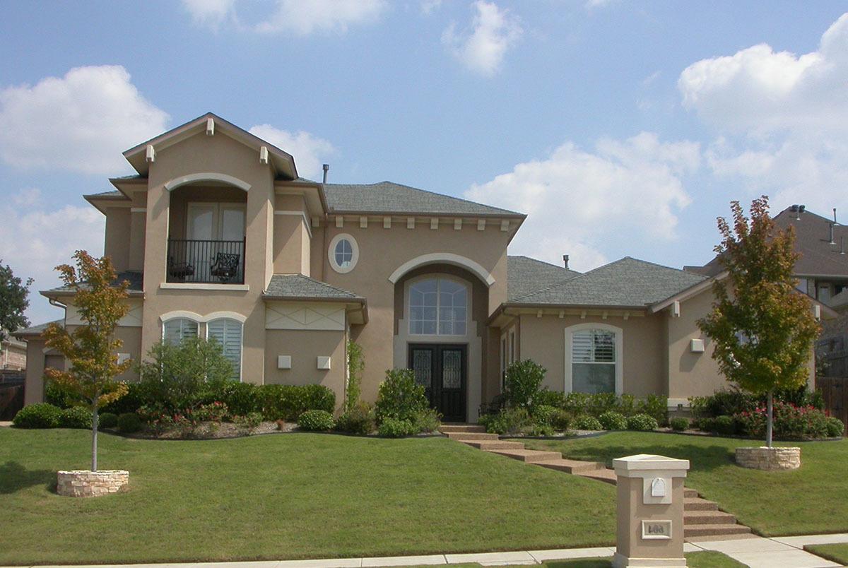 Mini Mansion 36105tx Architectural Designs House Plans
