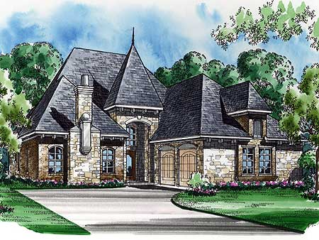 36164TX_e Fancy French House Plans on gingerbread house, charlotte house, apple house, cake house, cupcake house, sugar house,