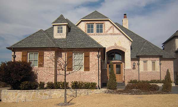 Rustic Brick And Stucco 36165tx 1st Floor Master Suite