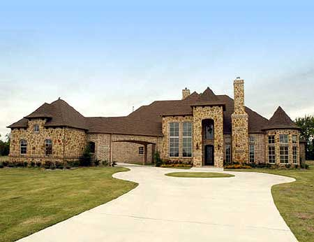 European Estate Home Plan 36175tx 1st Floor Master