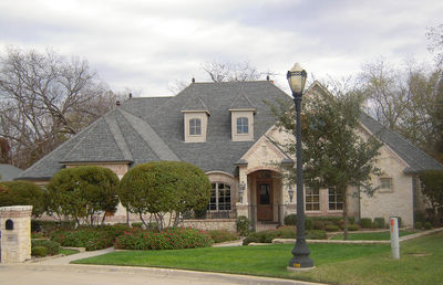 French Country Estate with Courtyard - 36180TX thumb - 03