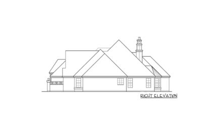 French Country Estate with Courtyard - 36180TX thumb - 11
