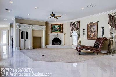 plan 36186tx architecturaldesignscom luxury with central courtyard 36186tx thumb 05 - Architectural Designs Com