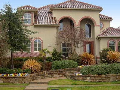 Dramatic Two-Story Arched Entry - 36232TX thumb - 01