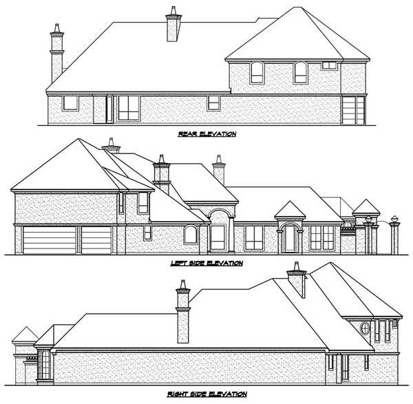 V shaped luxury home plan 36235tx 1st floor master V shaped house plans