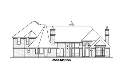 V-Shaped Luxury Home Plan - 36235TX | Architectural Designs ...