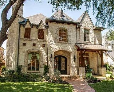 Old World Charm 36292tx Architectural Designs House