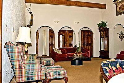 Three Bedroom Hacienda House Plan - 36367TX thumb - 07