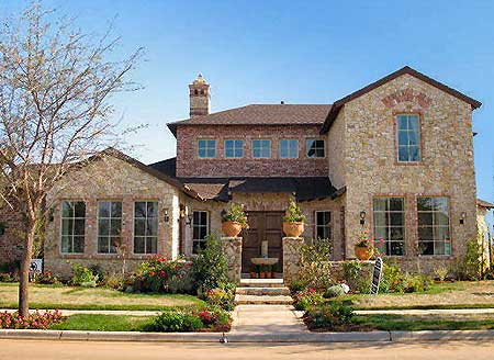 hill country courtyard stunner - 36377tx | architectural designs