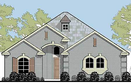 Zero Lot Line Narrow House Plan 36411tx Architectural