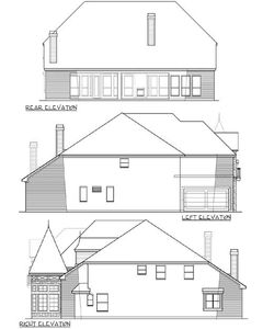 5 bed home plan with great study 36415tx architectural for Study bed plans