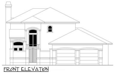 4 Bedroom Courtyard Living Home Plan - 36801JG thumb - 11