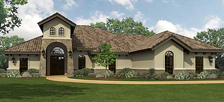 Hill country home floor plans