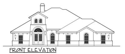 one story hill country home plan - 36802jg | architectural designs