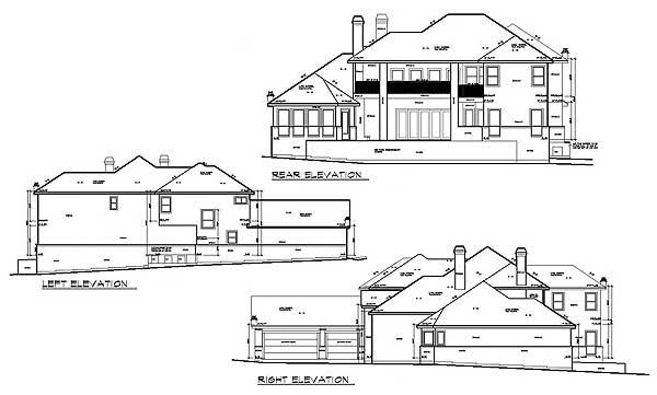 Texas hill country home plan 36806jg 1st floor master for Hill country floor plans