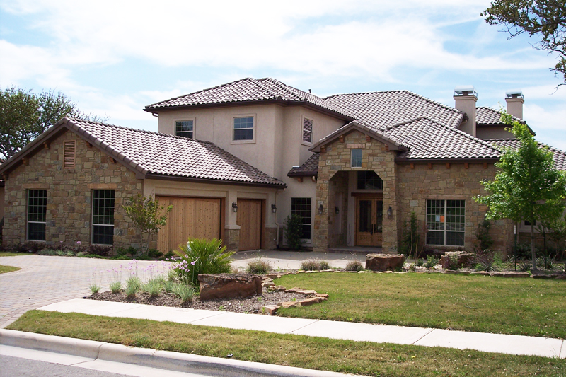 Texas hill country home plan 36806jg 1st floor master for Italian country home plans