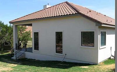 Narrow Lot Courtyard Home Plan 36818jg Architectural