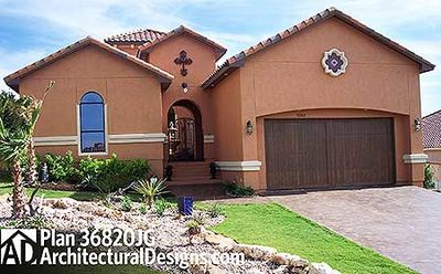 3 Bedroom Tuscan With Two Courtyards - 36820JG thumb - 01