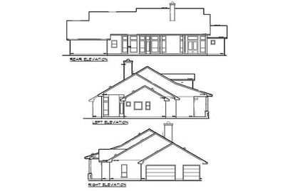hill country home plan - 36821jg | architectural designs - house plans