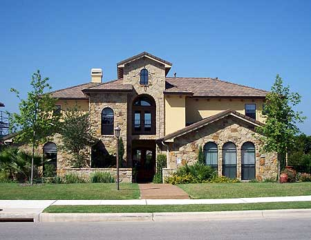 Five bedrooms or game room and study 36845jg 1st floor for 5 bedroom mediterranean house plans