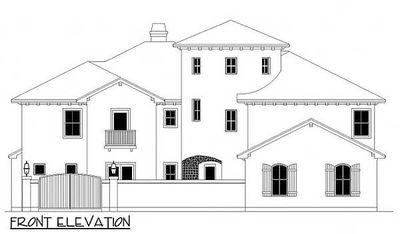 Tuscan Home Plan with Towering Rotunda - 36849JG thumb - 03