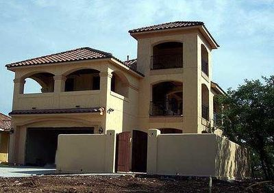 Mediterranean Home Plan with Tower Room - 36858JG thumb - 03