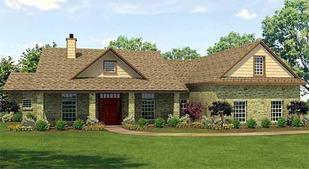 Architectural designs for Rambling ranch house plans