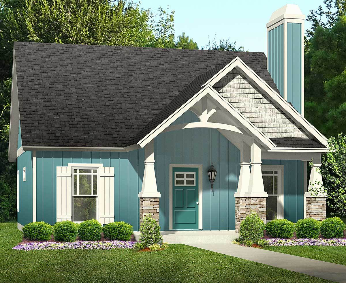 Guest cottage or first home 36901jg 1st floor master for Guest cabin plans