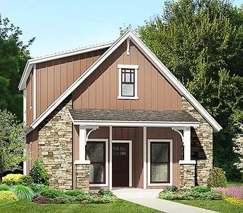 Master up cottage with flex room 36924jg architectural for Master up house plans