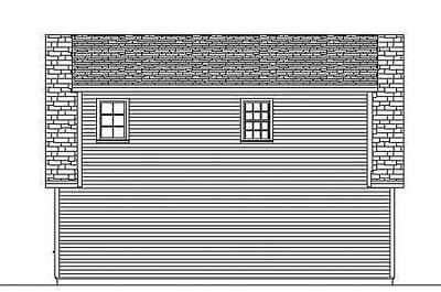 Simple Carriage House Plan - 3792TM thumb - 03