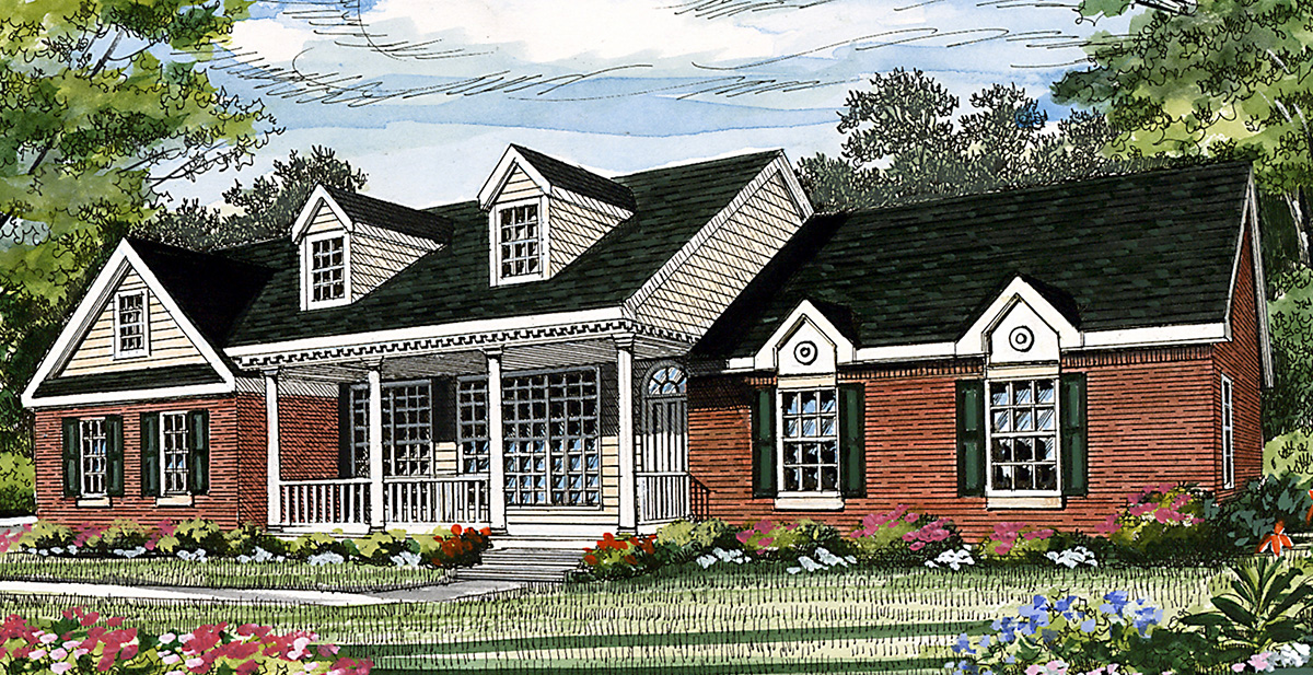 Affordable ranch 3829ja architectural designs house for Cheap ranch house plans