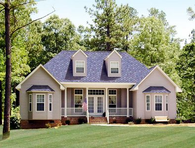 Affordable Country Home Plan - 3837JA thumb - 01