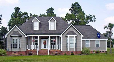 Affordable Country Home Plan - 3837JA thumb - 02
