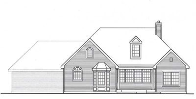 Affordable Country Home Plan - 3837JA thumb - 15