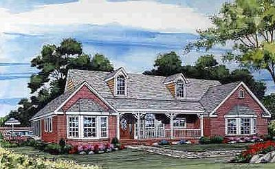 Expandable country ranch 3842ja architectural designs for Expandable ranch house plans