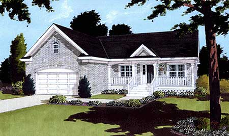 Moderate sized delight 39014st 1st floor master suite for Moderate house plans