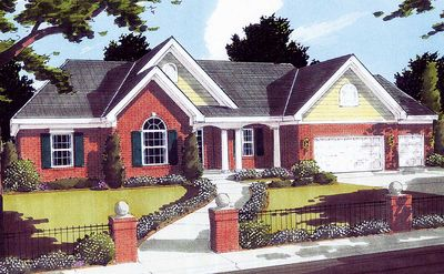 Enchanting Family-Friendly Home Plan - 3916ST thumb - 01