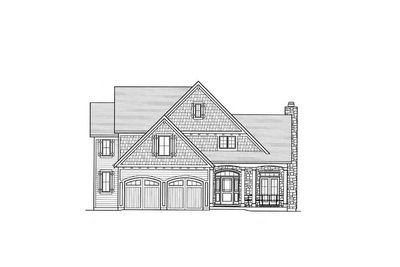 Charming l shaped porch 39161st architectural designs for L shaped house front porch
