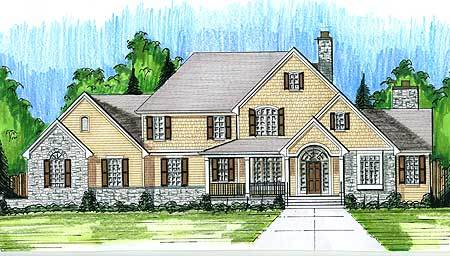 Stately home plan 39171st architectural designs for Stately house plans